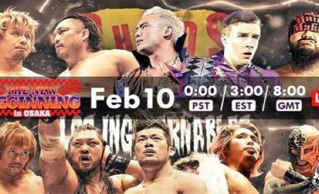 NJPW New Beginning Osaka