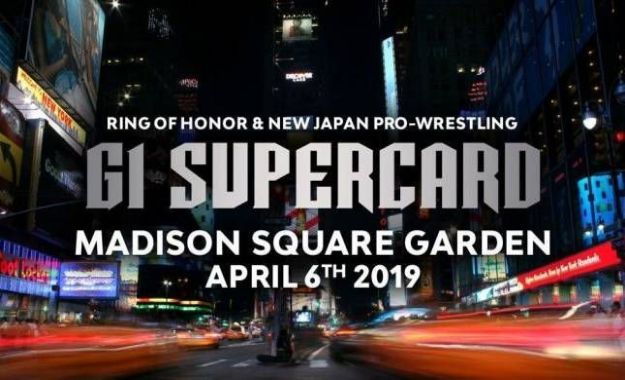 NJPW y ROH en el Madison Square Garden
