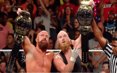 NXT Takeover Brooklyn Sanity