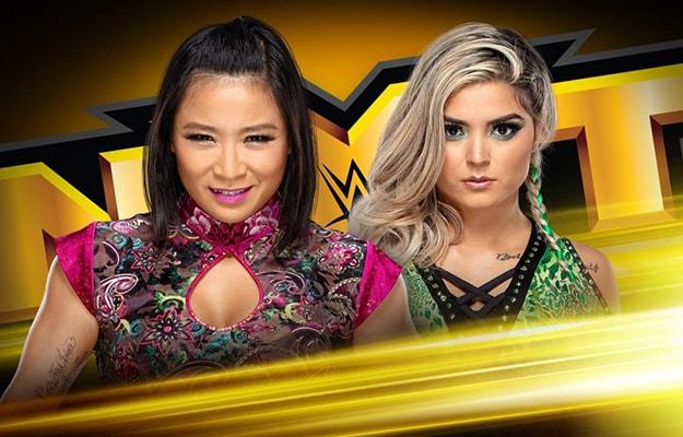 WWE NXT en vivo resultados 19 de junio
