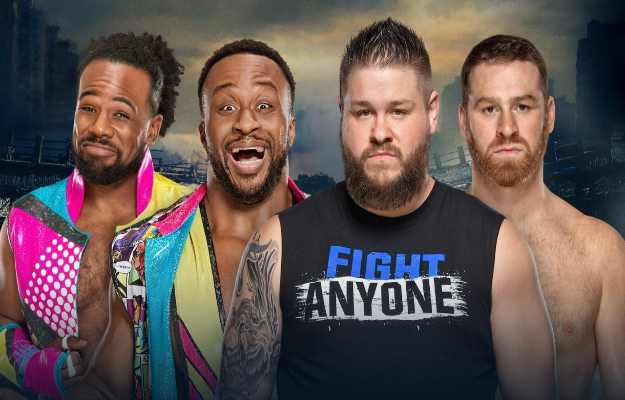 New Day se enfrentarán a Kevin Owens y Sami Zayn en WWE Stomping Grounds