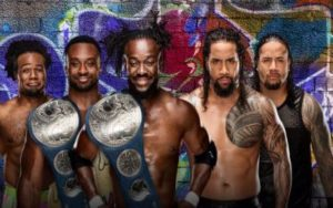 New Day vs The Usos por los títulos de parejas de Smackdown en SummerSlam