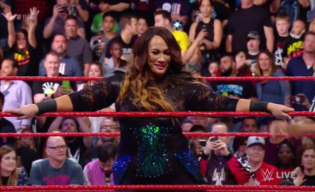 Nia Jax regresa en WWE RAW