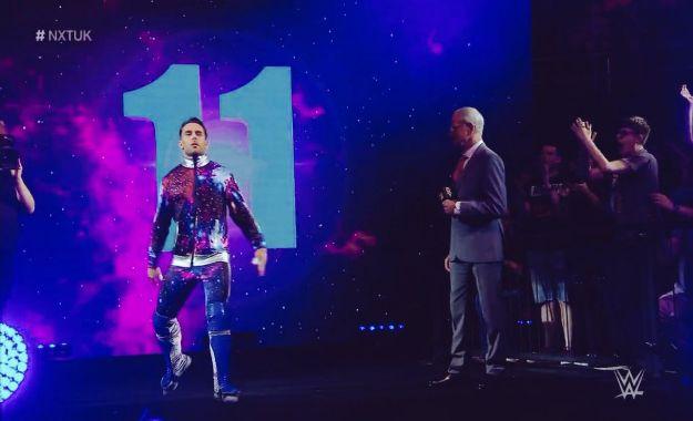 Noam Dar regresa durante el WWE UK Tournament