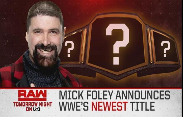 Nuevo campeonato de WWE