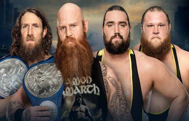 Combate por los títulos tag team de SmackDown Live en WWE Stomping Grounds