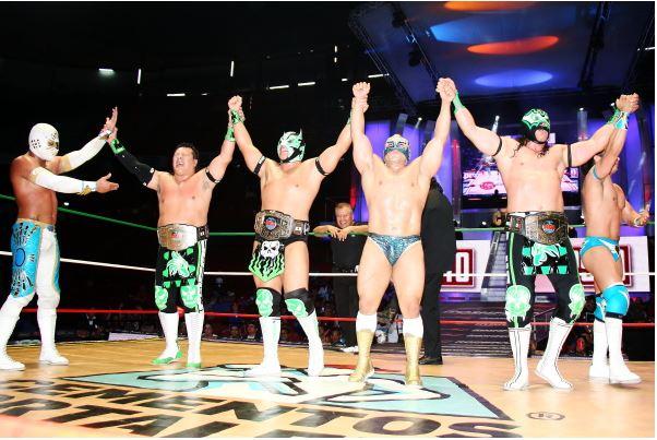 Nuevos Campeones Mundiales de Trios CMLL