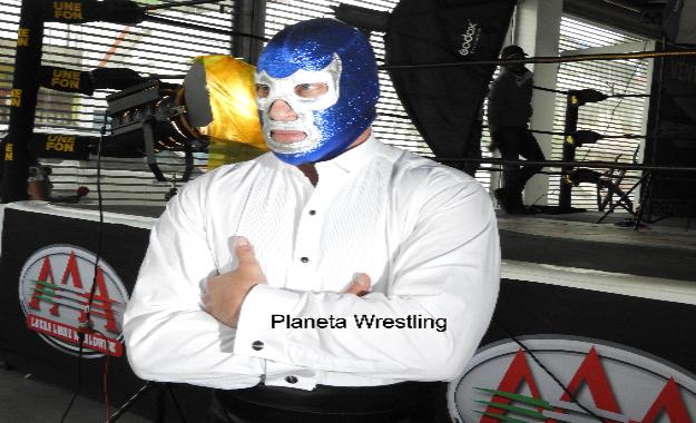 Palabras de Blue Demon Jr. previo a su duelo en Triplemanía