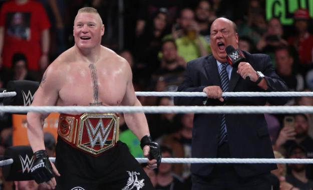 Paul Heyman cancela el combate para sacar al retador en WWE Extreme Rules