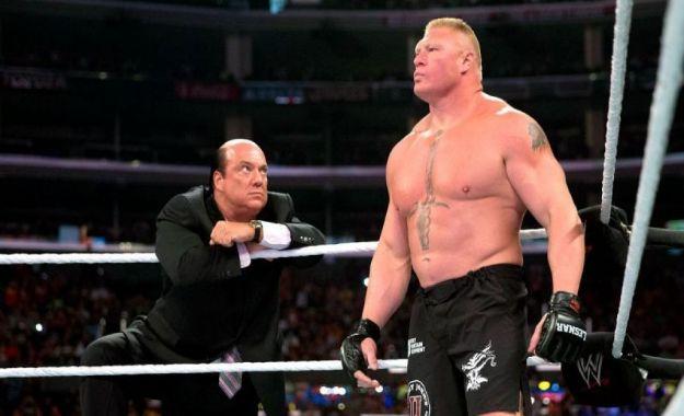 Paul Heyman habla sobre el futuro de Brock Lesnar en WWE