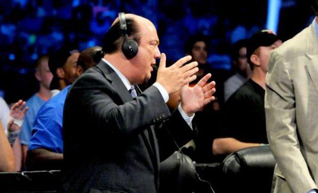 Paul Heyman podría estar en la mesa de comentaristas de RAW