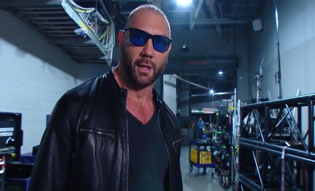 Planes originales para Batista en el show de RAW de esta semana
