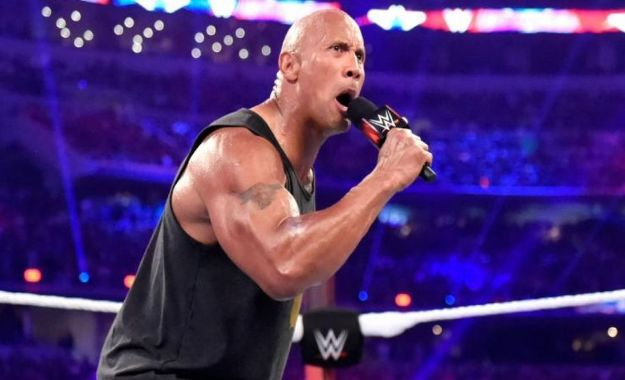 Planes originales para The Rock en Royal Rumble y Wrestlemania