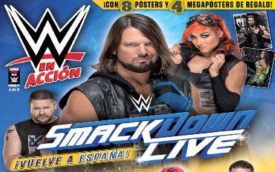 Portada WWE en accion 14