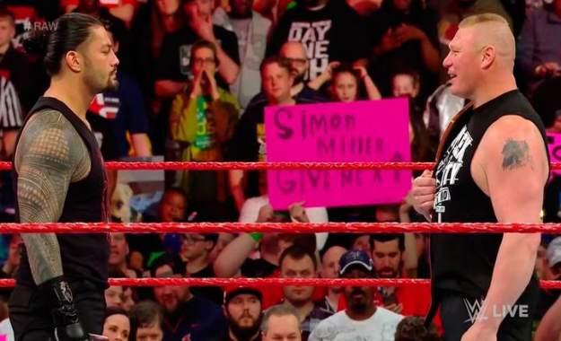 Posible resultado del combate de Brock Lesnar contra Roman Reigns en Summerslam