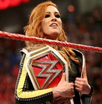 Posible spoiler sobre el reinado de Becky Lynch como campeona femenina de WWE RAW