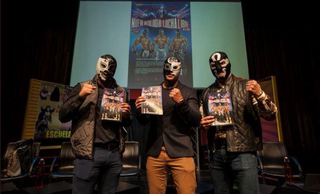 Presentación de Historieta de la Nueva Mitología de la Lucha Libre Mexicana