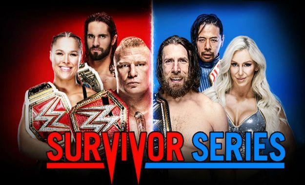 WWE Survivor Series 2018 (Coberturas y resultados en directo)