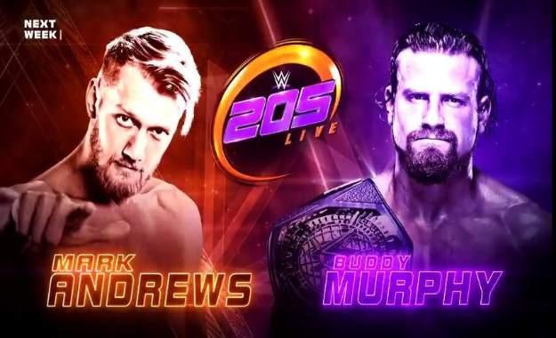 Previa WWE 205 Live del 7 de Noviembre