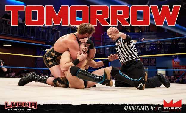 Previa de Lucha Underground del 25 de Julio