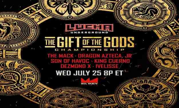 Lucha Underground 25 de Julio (Cobertura y resultados en directo)