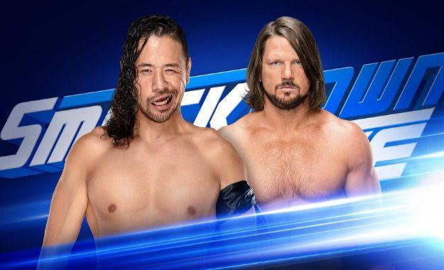 Shinsuke Nakamura vs AJ Styles