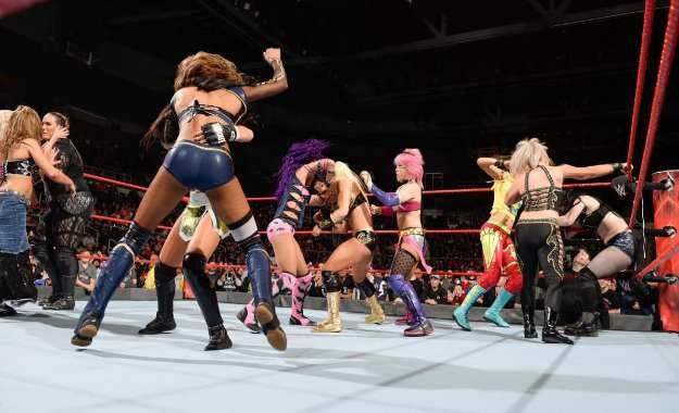 Luchadora lesionada WWE