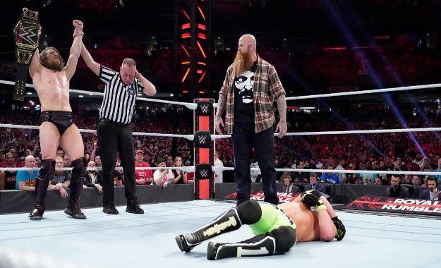 Protagonistas Royal Rumble