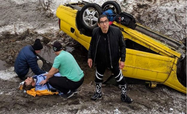 Psicosis auxilia a promotor tras accidente automovilistico