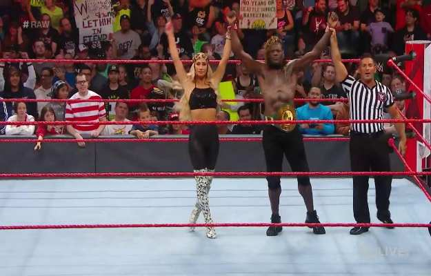 R-Truth gana y pierde el título 24 7 en WWE RAW 2 veces