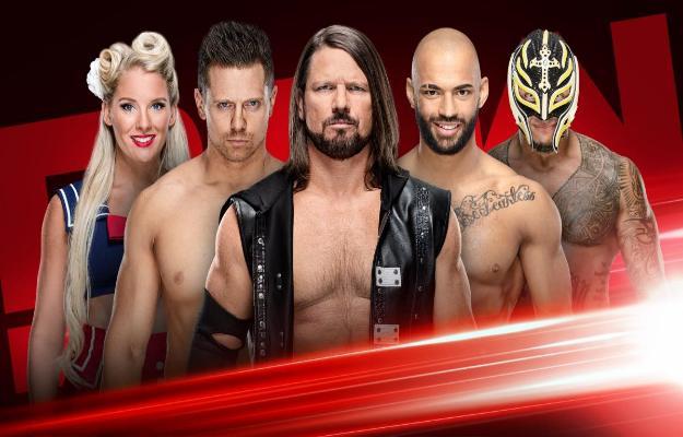 RAW WWE Shake Up