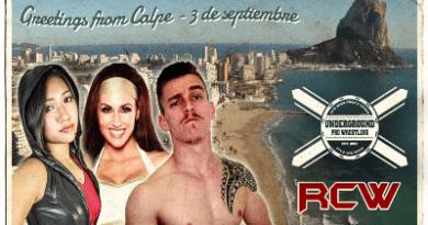 Revolution Championship Wrestling llega a Calpe