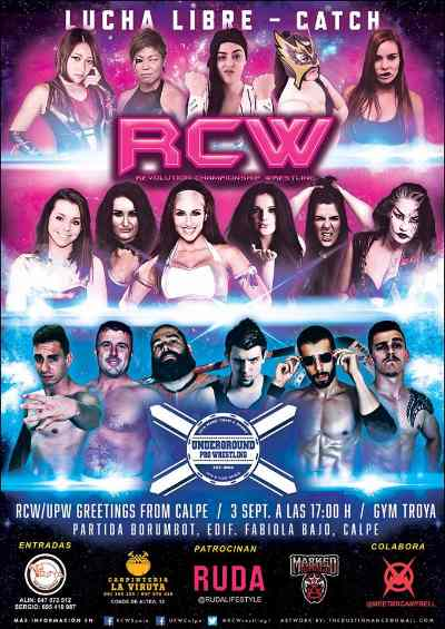 RCW UPW Greetings From Calpe 3 de Septiembre