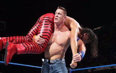 John Cena vs Nakamura de anoche en Smackdown