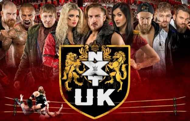 Luchador de WWE en NXT UK