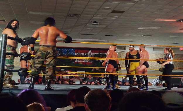 Resultados del live show de NXT del 4 de enero en Jacksonville