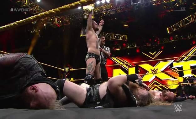 Resultados del programa de NXT del 25 de abril 2018