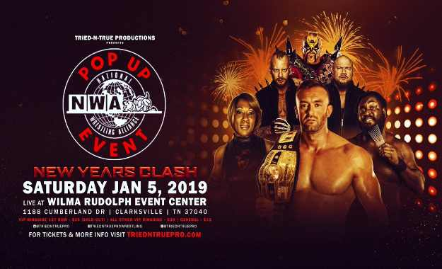 Resultados del show de NWA Pop Up del 5 de enero