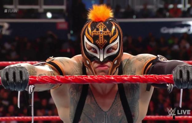 Rey Mysterio WWE RAW