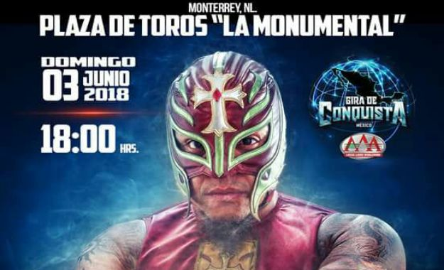 Rey Mysterio regresa a Triple A