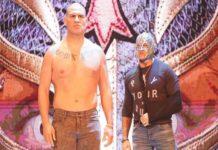 Rey Mysterio y Cain Velasquez WWE