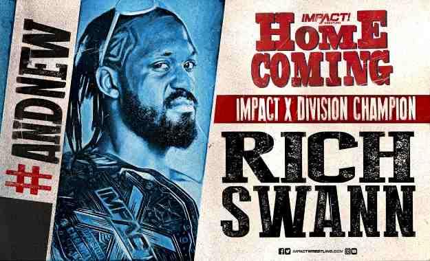 Rich Swann es el nuevo Impact X-Division Champion en Homecoming