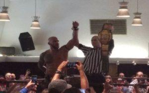 Ricochet nuevo campeón de PWG