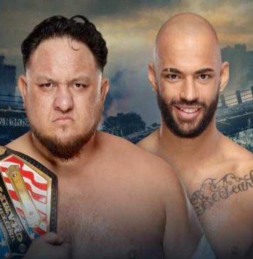 Ricochet se enfrentará a Samoa Joe en Stomping Grounds por el Campeonato de los Estados Unidos