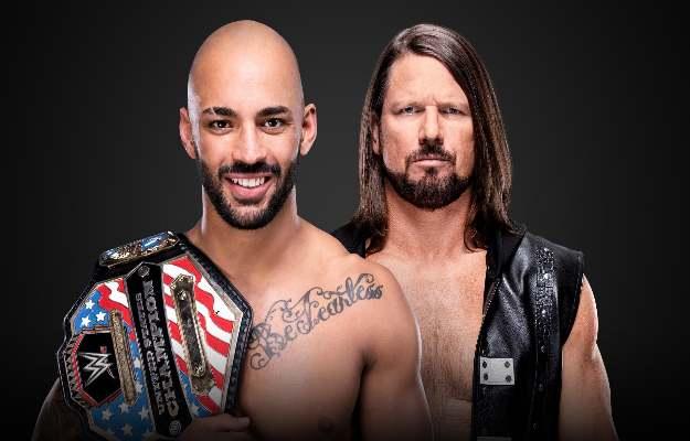 Ricochet vs AJ Styles por el campeonato de los Estados unidos en WWE Extreme Rules