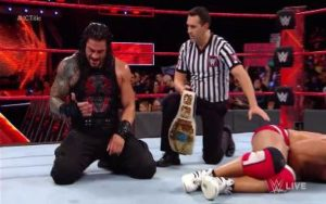 Roman Reigns IC Champion RAW