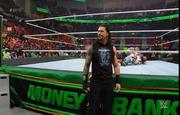 Roman Reigns Money in The Bank