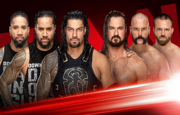 Roman Reigns WWE RAW