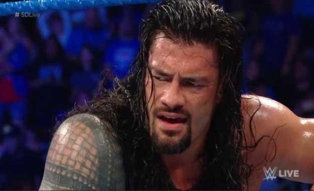 Roman Reigns WWE SmackDown Live en vivo