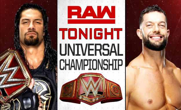 Roman Reigns defenderá el Universal Championship contra Finn Balor en WWE RAW